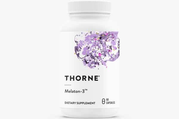 photo of thorne melatonin supplement